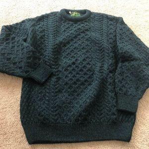 Vintage Latchfords of Ireland 48 xl sweater green